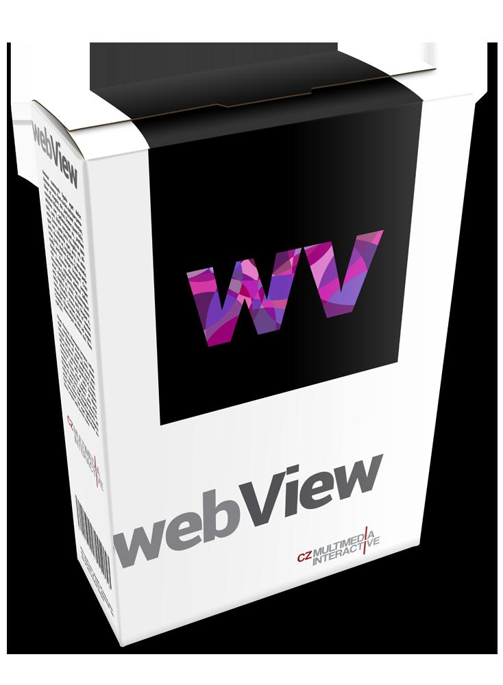 webView | interaktivní software | Multimediální informační kiosky
