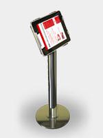 Vizualizace standarního stojanu a tabletu