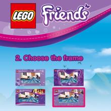 Samoobslužná foto aplikace LEGO Friends
